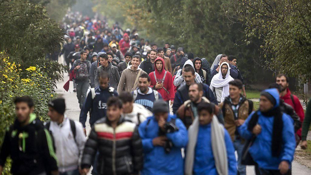 Der Flüchtlingsstrom Richtung Westen reisst nicht ab. (Archiv)