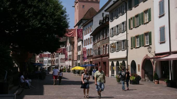 Schon bald wehen hier Flaggen und Banner: Die Altstadt von Rheinfelden. Symbolbild.