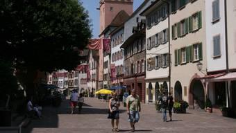 Die Altstadt von Rheinfelden