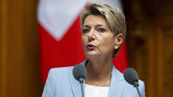 Konzentriert sich auf den Abstimmungskampf für die elektronische Identität: Bundesrätin Karin Keller-Sutter.