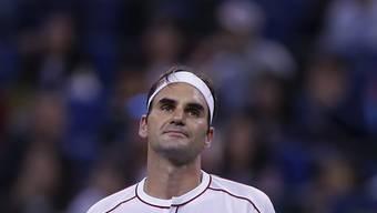 Für Roger Federer endete das Turnier in Schanghai in den Viertelfinals