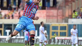 Izcos Tore für Catania bescherte Juve den vorzeitigen Titelgewinn