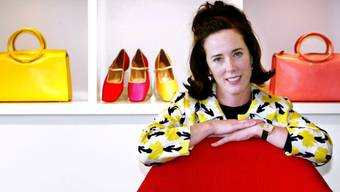 Überraschend mit 55 Jahren gestorben: Die Taschendesignerin Kate Spade, hier auf einem Foto von 2004.