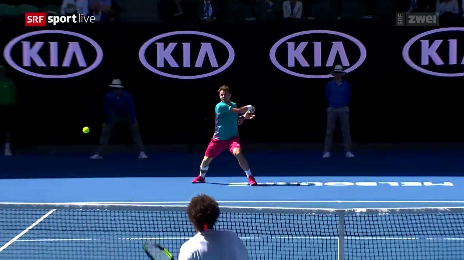 Australian Open: Wawrinka im Halbfinal