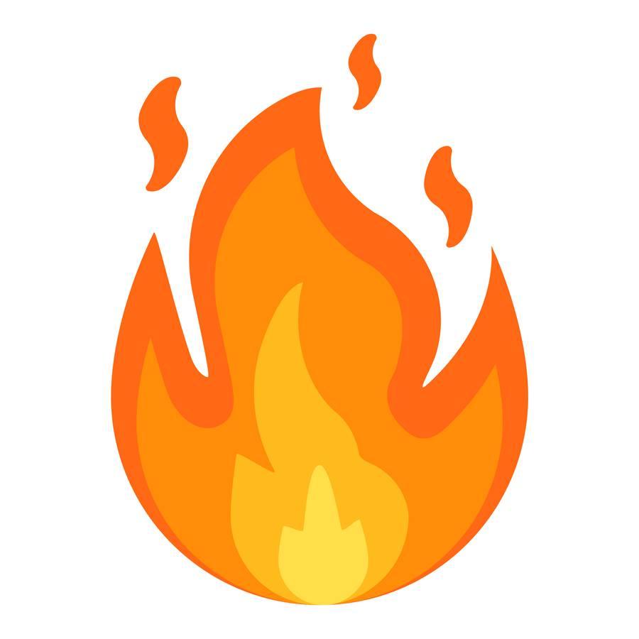 Platz 2: Das Feuer (131'770 Google-Suchanfragen) (© iStock)