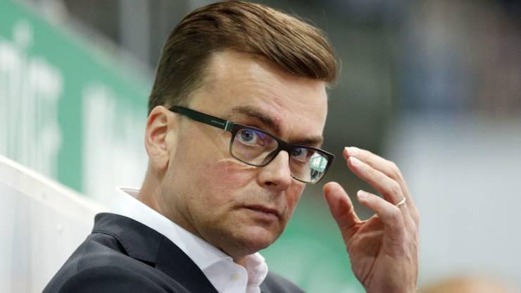 Pekka Tirkkonen, der finnische Trainer des EHC Kloten.