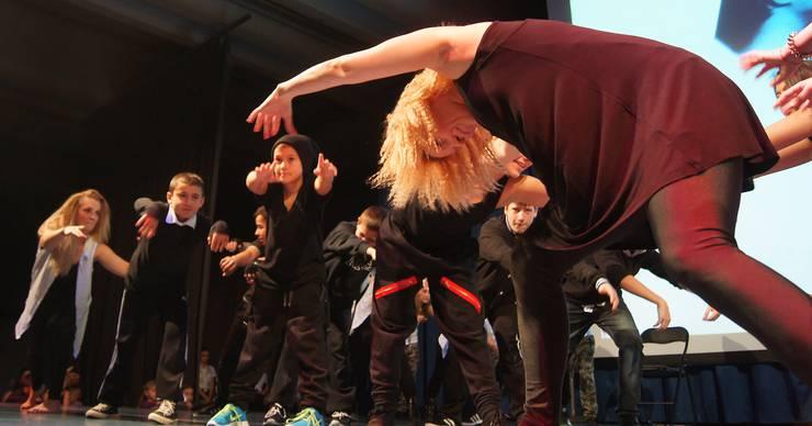 Streetstyle und Breakdance.