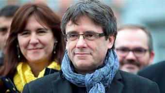 In Freiheit: Der von den Katalanen gewählte und von Madrid abgesetzte Regionalpräsident Puigdemont kann das Gefängnis in Schleswig-Holstein ab sofort verlassen. (Archivbild)