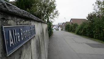 Schmal und unübersichtlich ist die Alte Bremgartenstrasse – hier ist Tempo 20 geplant.