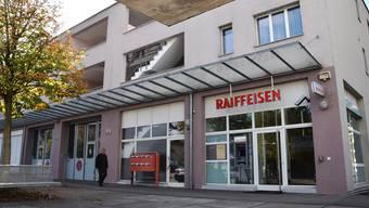 An diesem Standort will die Raiffeiesenbank ausbauen und modernisieren.