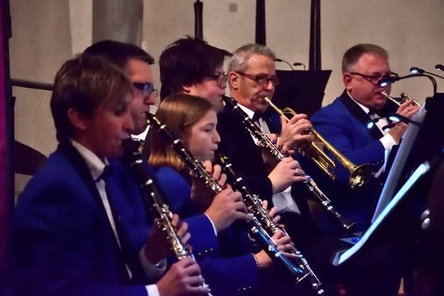 Vier von insgesamt neun Klarinetten der Harmonie Gerlafingen.