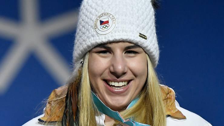 Ester Ledecka sorgte mit Gold im Super-G für die grösste Olympia-Sensation in der Ski-Geschichte