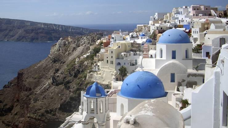 Griechenland gehört zu den Top-Feriendestinationen der Solothurner im 2019