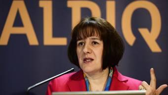 Alpiq-Chefin Staiblin präsentiert den Weg aus der Krise. (Bild:Archiv)