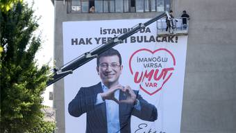 Kann Ekrem Imamoglu die Kurden am Sonntag auf seine Seite ziehen? Keystone