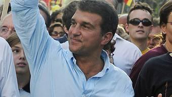 FC Barcelona-Präsident Joan Laporta