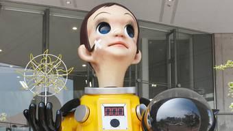 """Die Gedenkstatue zur Atomkatastrophe in Fukushima mit dem Namen """"Sonnenkind"""" sorgte für Streit. Jetzt soll sie wieder entfernt werden."""