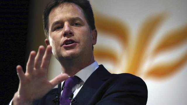 Vize-Regierungschef Nick Clegg warnt vor britischem EU-Austritt