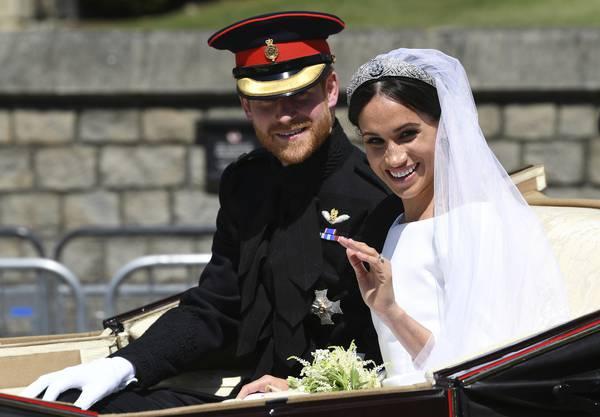 Die Hochzeit von Prinz Harry und Meghan Markle fand am 19. Mai 2018 in Windsor Castle statt.