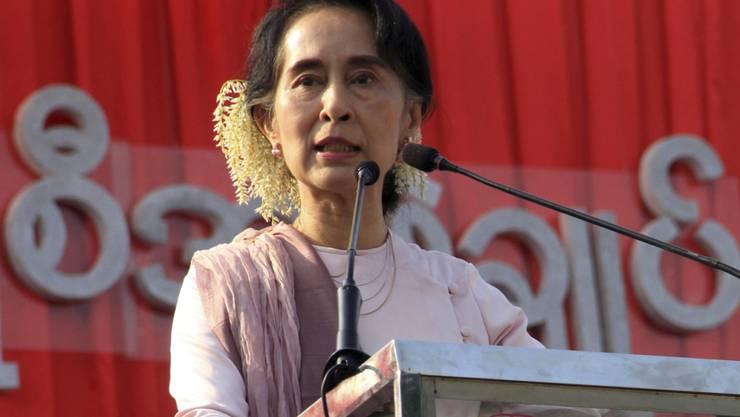 Friedensnobelpreisträgerin Aung San Suu Kyi (Archiv)