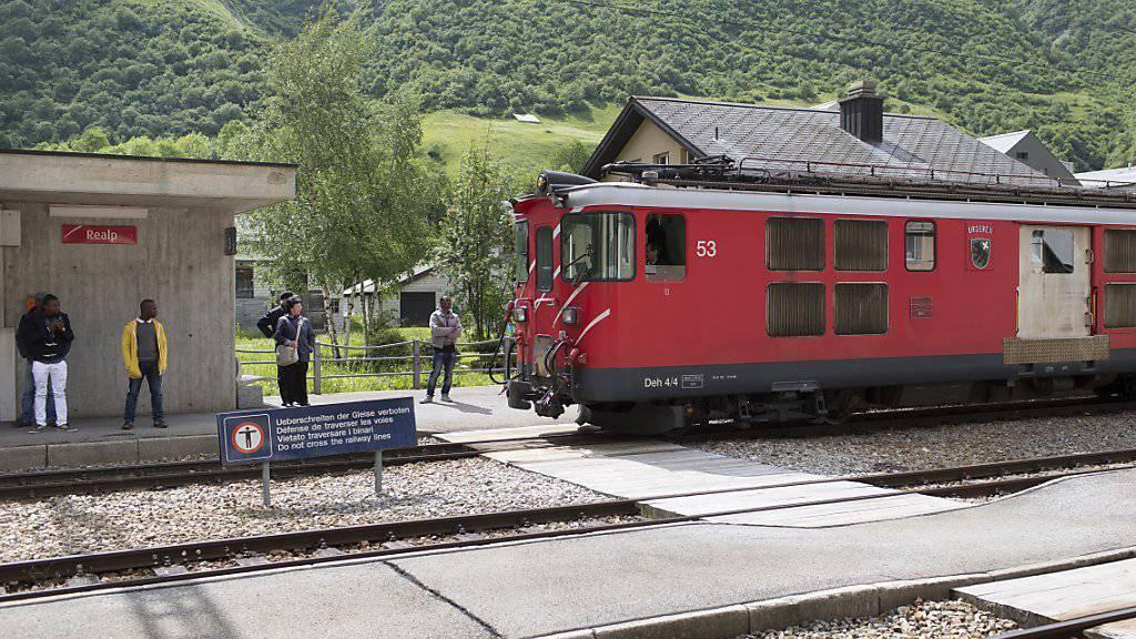 Unfall im Bahnhof Realp UR: Autozug fährt in einen Prellbock (Symbolbild)
