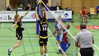 Volley Schönenwerd ist der Playoffstart geglückt.
