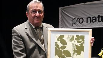 Heinz Durrer ist Träger des Naturschutzpreis Baselland 2013.