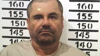 """Der mexikanische Drogenboss Joaquín """"El Chapo"""" Guzmán muss sich in New York vor Gericht verantworten. (Archiv)"""