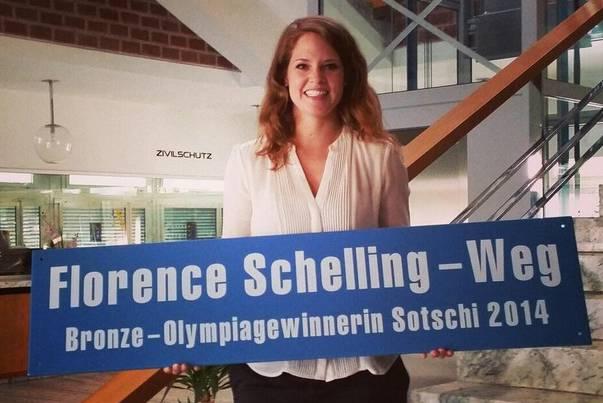 Die Gemeinde Oberengstringen hat einen Weg nach ihr benannt