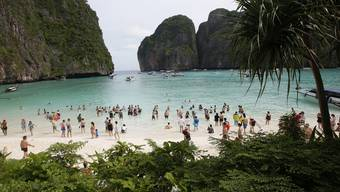 Maya Bay «The Beach» in Thailand