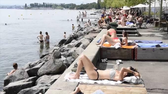 Hitzewelle erfasst die Schweiz