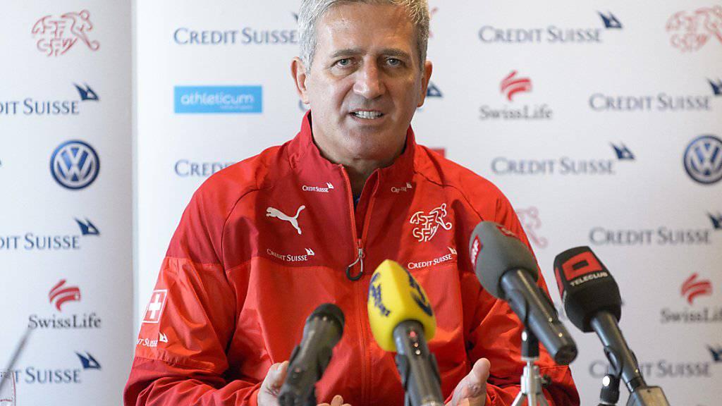 Vladimir Petkovic bekennt sich in Feusisberg zum Nationalteam