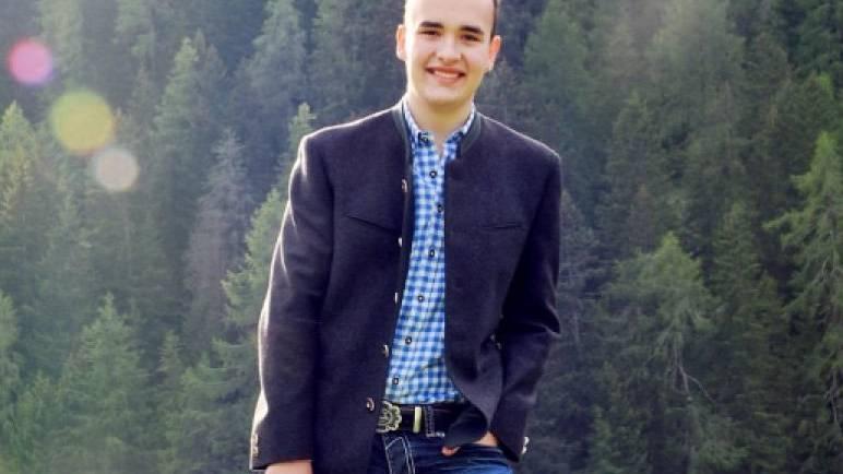Christian Vetsch spielt die Steirische Harmonika seit er acht Jahre alt ist.