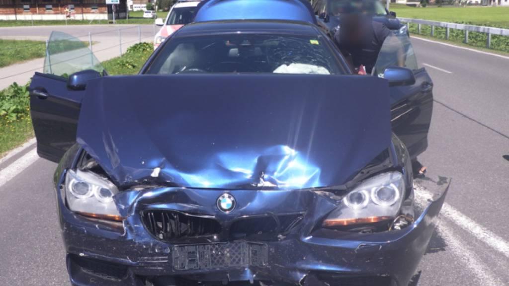 Bei Unfällen im Urner Oberland wurden am Wochenende drei Personen verletzt.