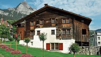 Das Haus Bethlehem aus dem Jahr 1287, das in Schwyz steht, wurde 1989 renoviert.