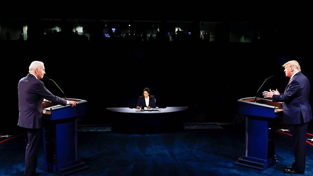 Trump und Biden gelingt gesittete TV-Debatte