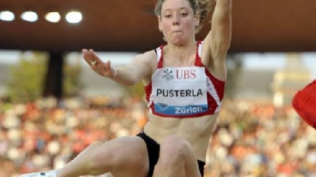 Irene Pusterla sprang in Zürich auf Rang 3