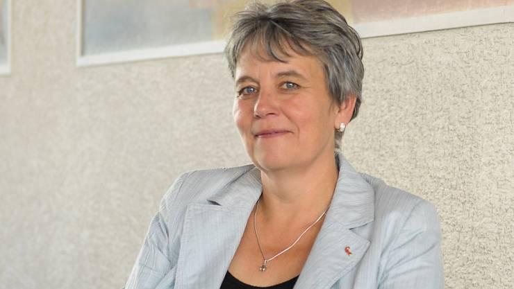 Landratspräsidentin Daniela Gaugler (SVP).