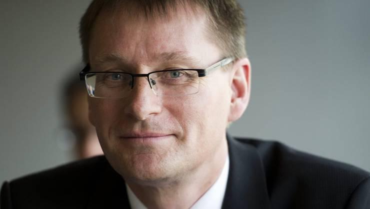 Mit Finanzchef Ewald Burgener hat die Valiant einen internen Kandidaten zum neuen Banken-Chef gekürt. (Archiv)