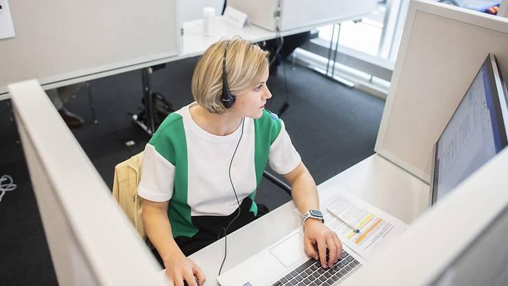 Die neue Contact-Tracing-Zentrale des Kantons Zürich nimmt am Montag den Betrieb auf. Rund 30 Personen werden dort arbeiten.