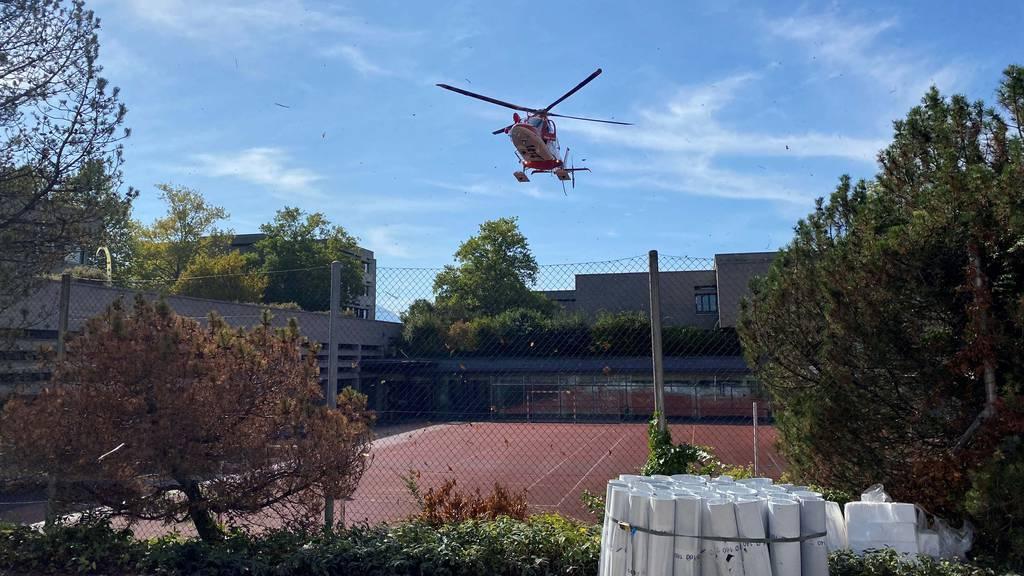 MM212_Rettungshelikoptereinsatz nach Selbstunfall