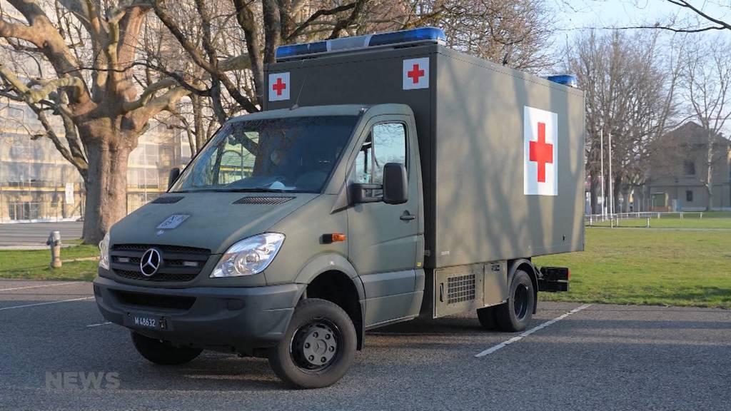 Schweizer Armee unterstützt ab sofort Schutz und Rettung Bern