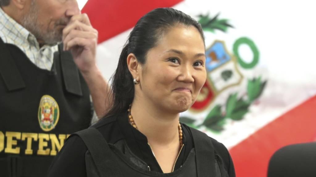 Untersuchungshaft für Oppositionsführerin Fujimori halbiert