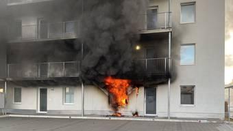 Brand in Mehrfamilienhaus in Zofingen (14.01.20)
