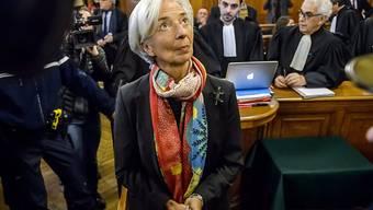 Christine Lagarde ist zwar schuldig, erhält aber keine Strafe. (Archiv)