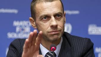 Aleksander Ceferin und die UEFA führen ab 2021 einen neuen Europacup-Wettbewerb ein