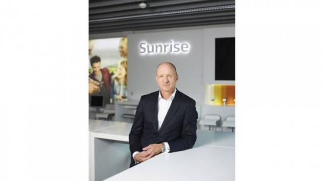 Der Schweiz-Holländer Olaf Swantee ist seit einem halben Jahr Sunrise-CEO. Foto: Keystone