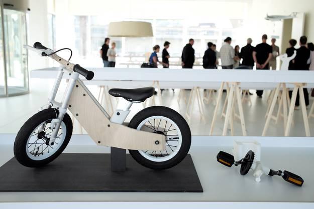 MIILO - Ein Kinderrad als Bausatz von Andreas Bhend.