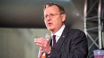 Seine Anstrengungen haben sich gelohnt. Bodo Ramelows Partei ist stärkste Kraft in Thüringen.