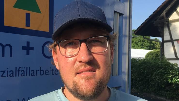 Curdin Moder, Angestellter Baum und Garten AG